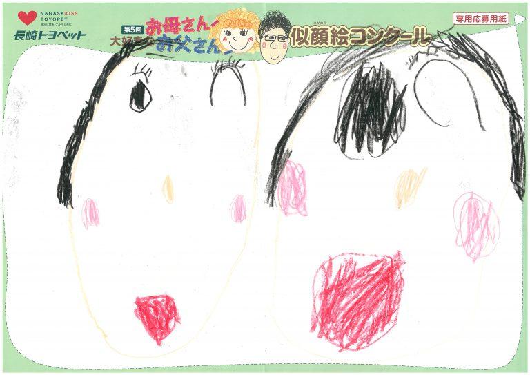 H.Iちゃん(4才)の作品