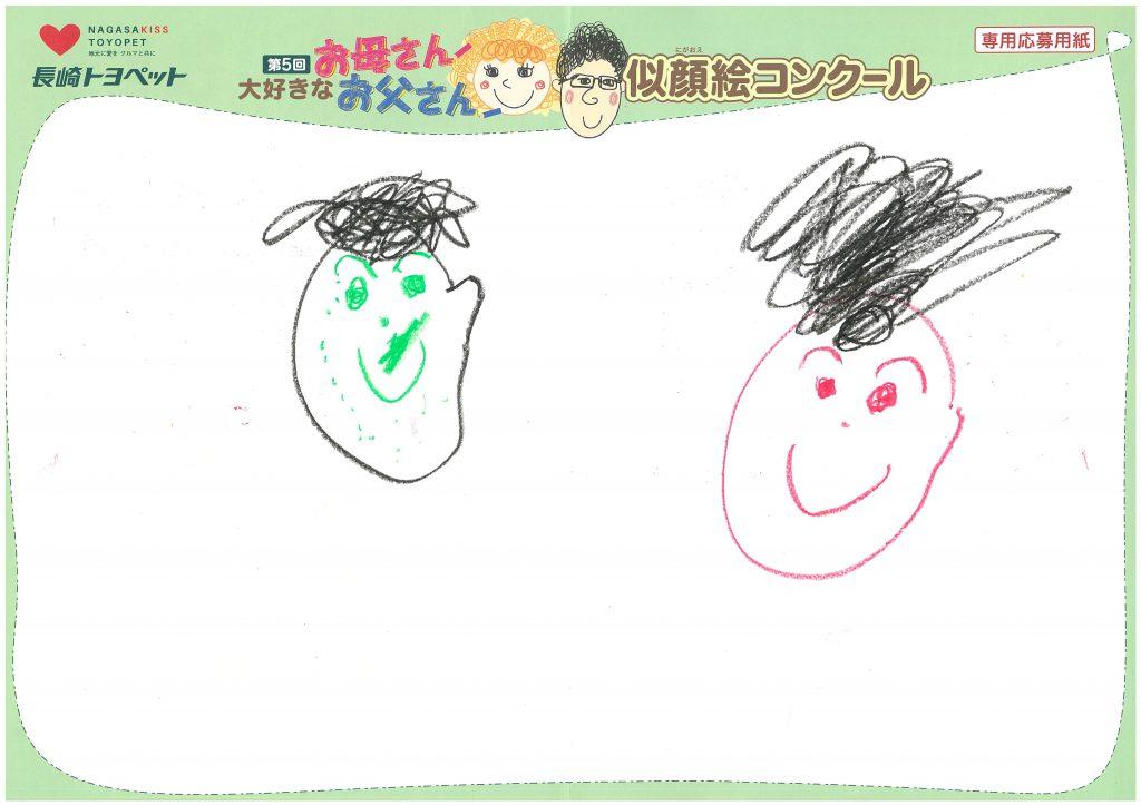S.Sくん(3才)の作品