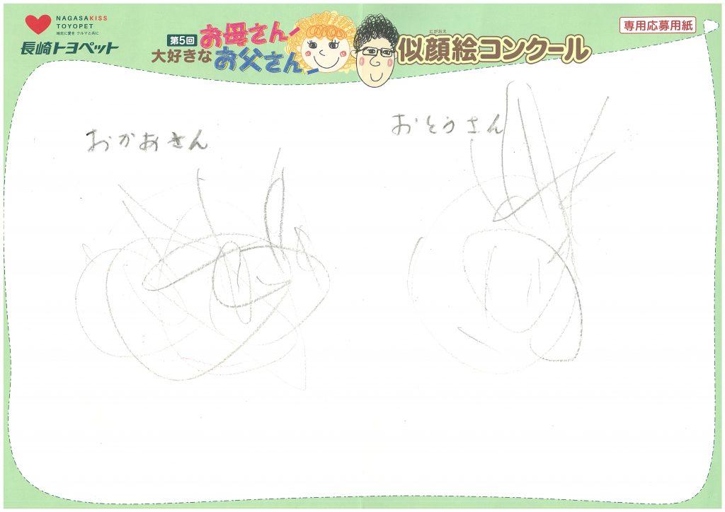 O.Yちゃん(2才)の作品