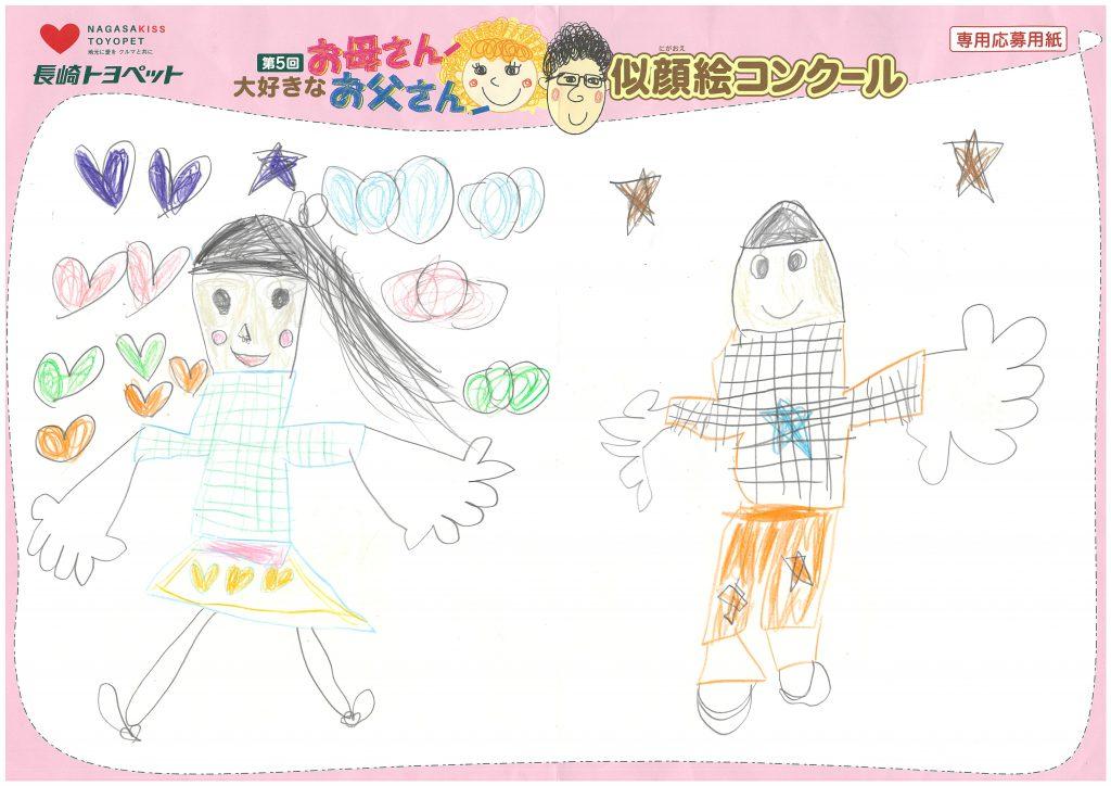 S.Uちゃん(5才)の作品