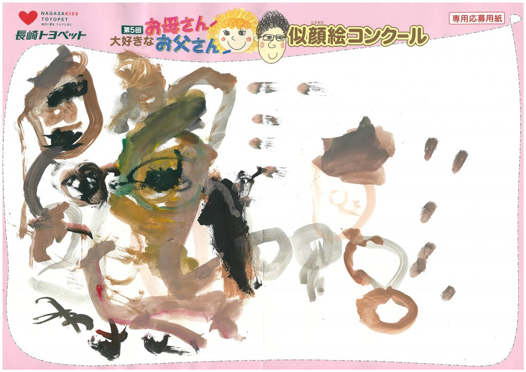 M.Iちゃん(3才)の作品