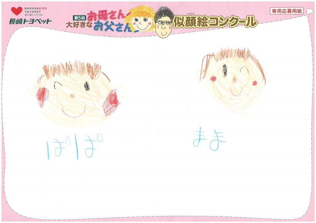 N.Kちゃん(6才)の作品