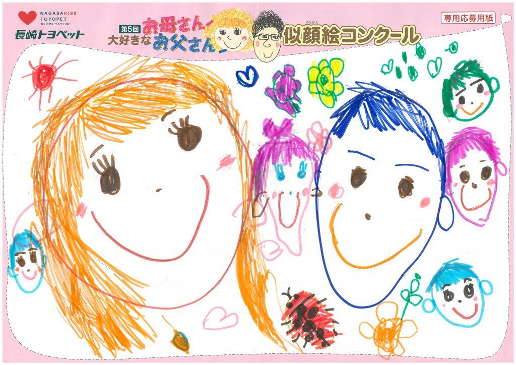 N.Mちゃん(3才)の作品