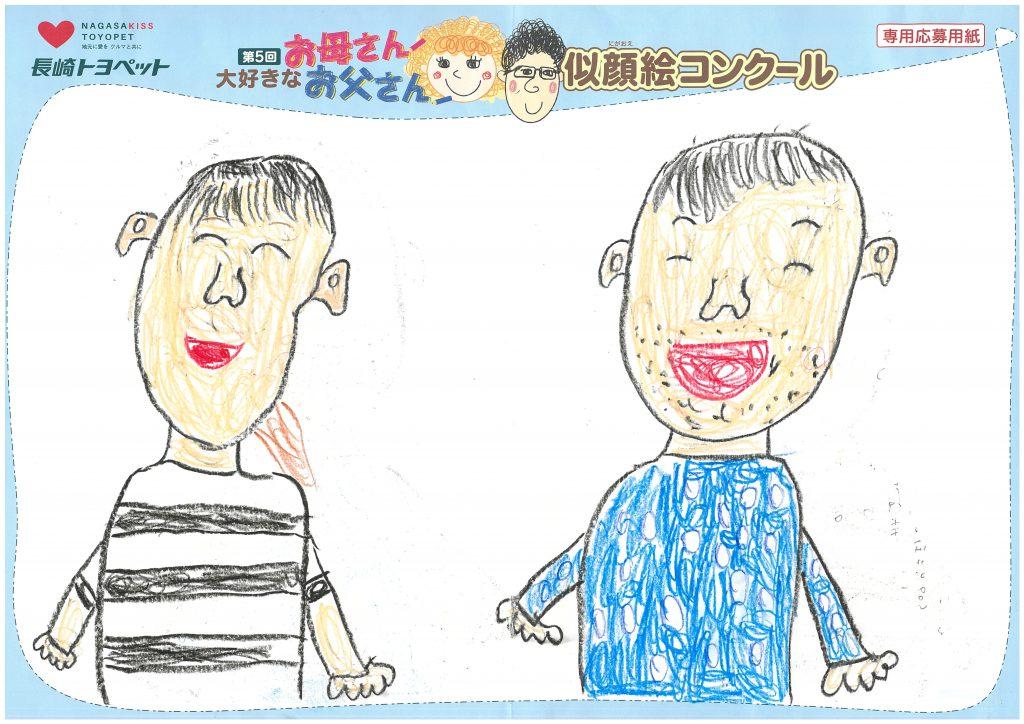 K.Aくん(6才)の作品