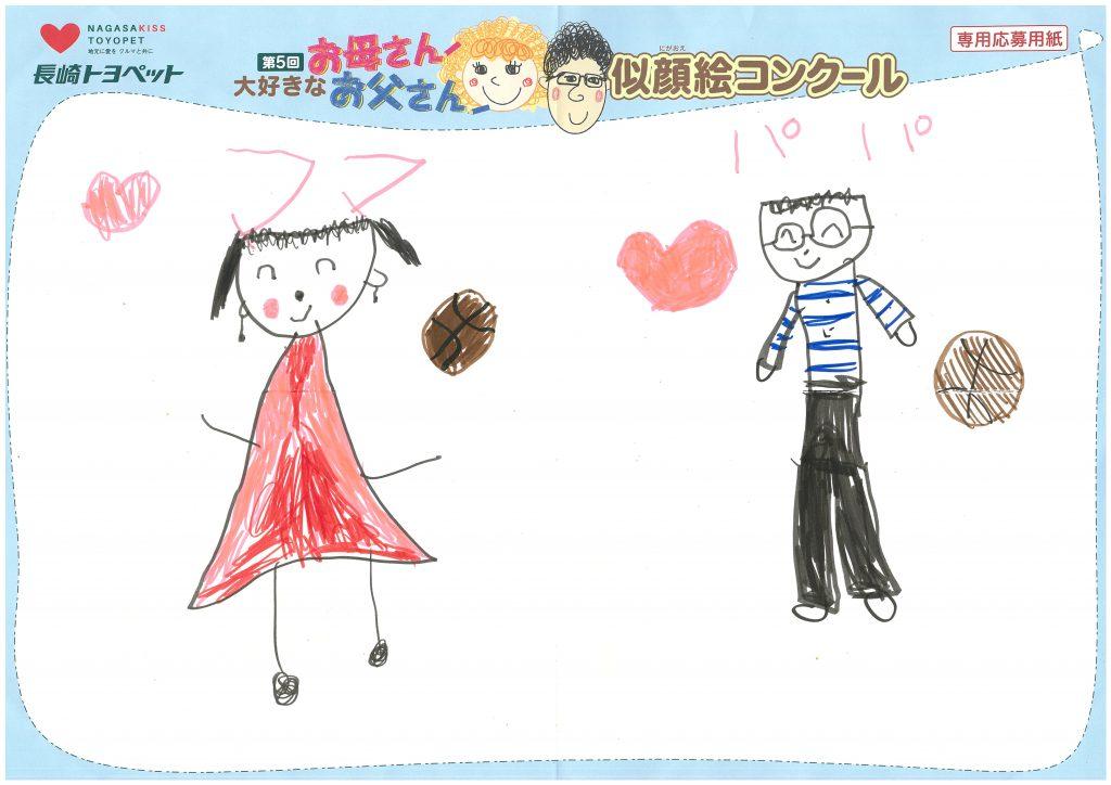 S.Hちゃん(6才)の作品