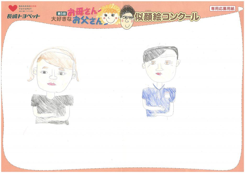 Y.Hちゃん(9才)の作品