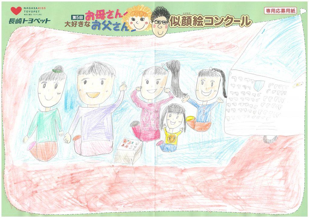 S.Kちゃん(10才)の作品