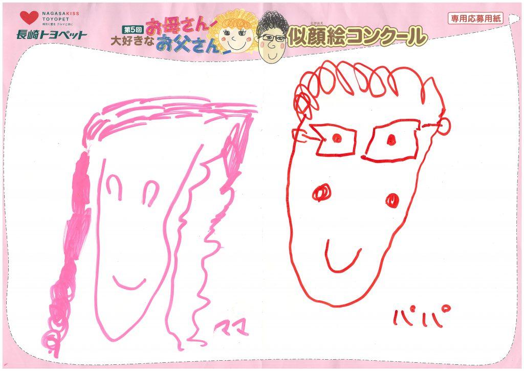 A.Yちゃん(4才)の作品