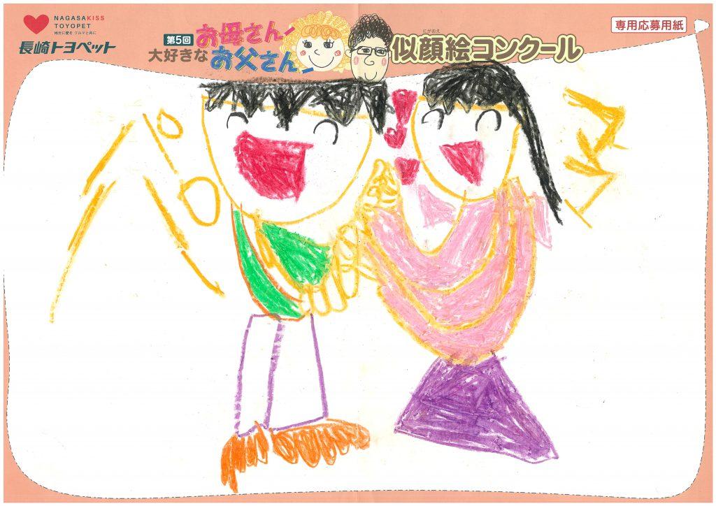 M.Nちゃん(6才)の作品