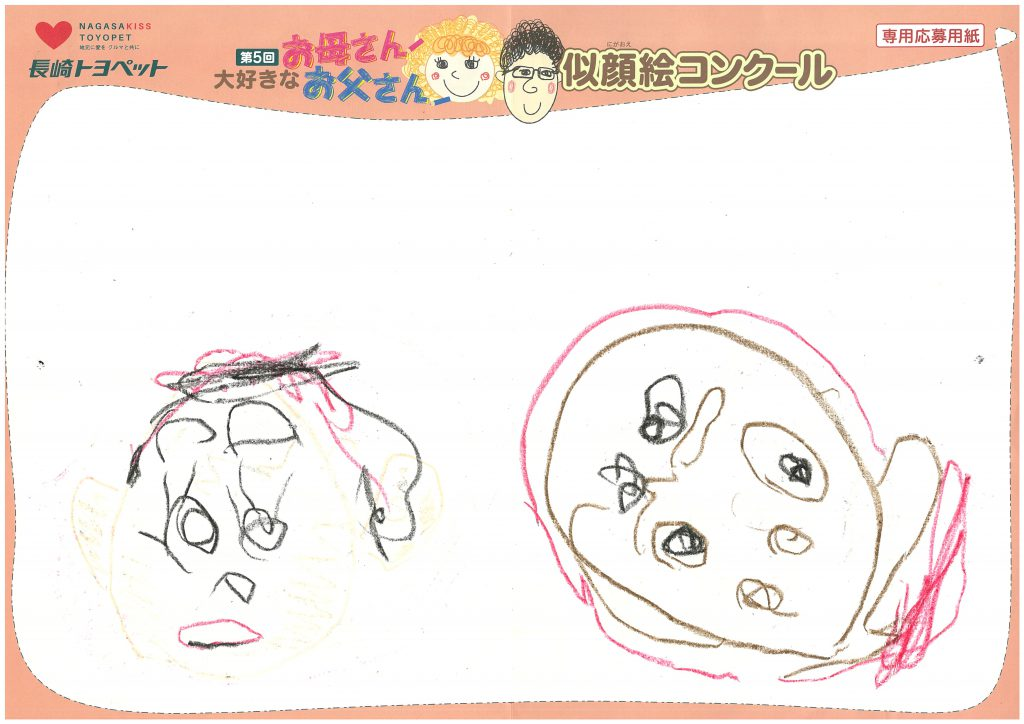 S.Iちゃん(3才)の作品