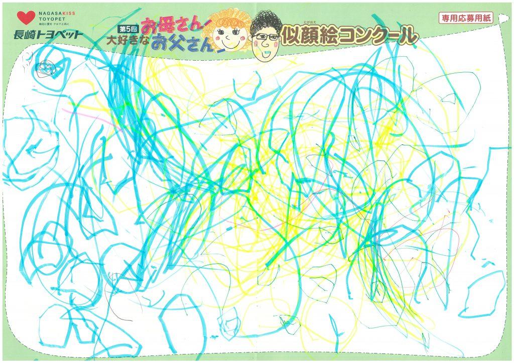 R.Iくん(2才)の作品
