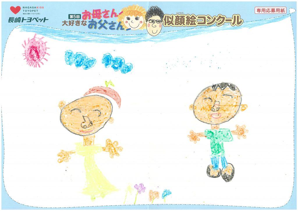 Y.Tくん(6才)の作品