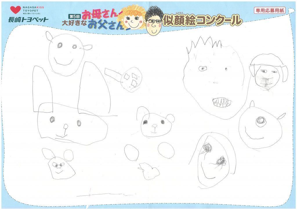 K.Tくん(5才)の作品