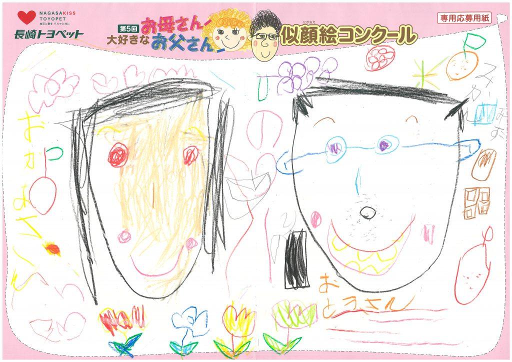 S.Hちゃん(4才)の作品