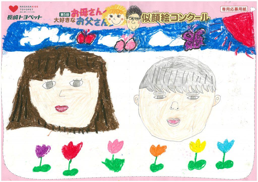 S.Tちゃん(7才)の作品