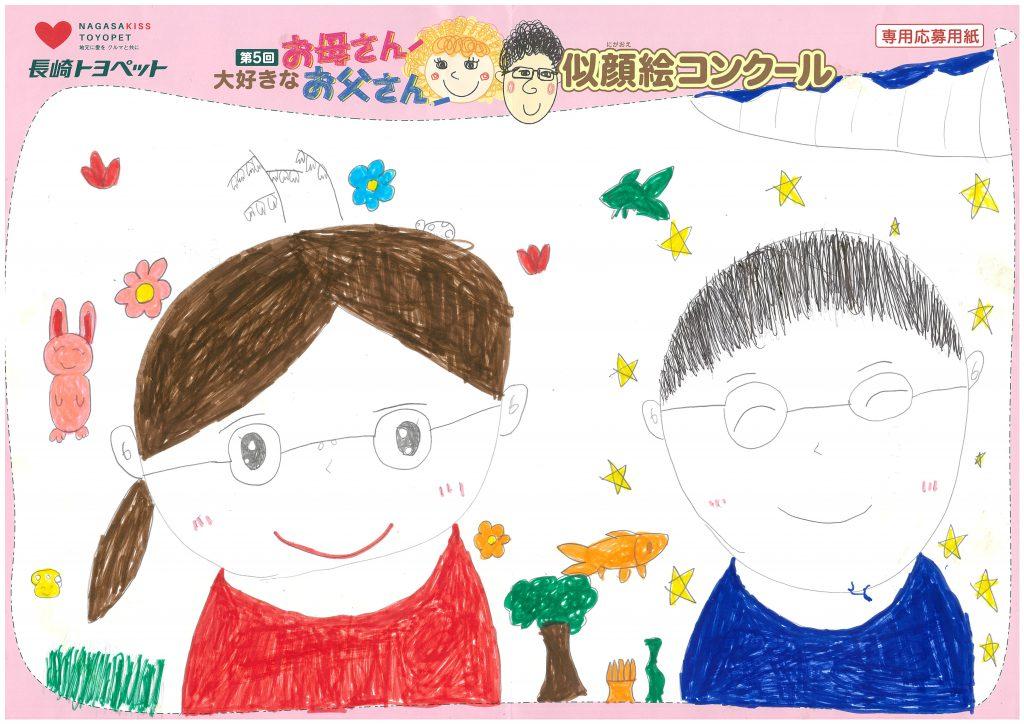 W.Eちゃん(8才)の作品