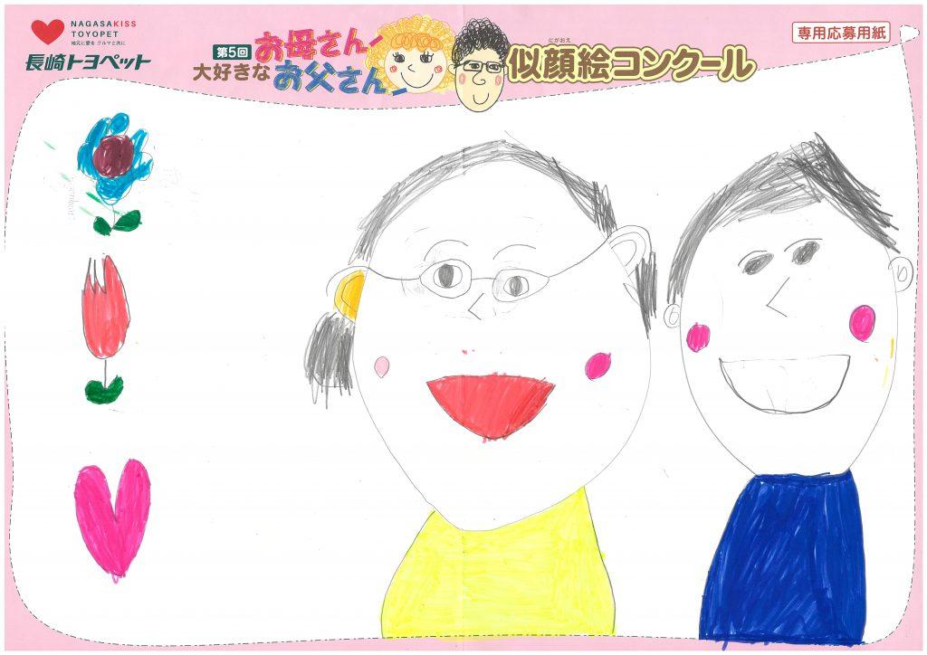 R.Oくん(7才)の作品