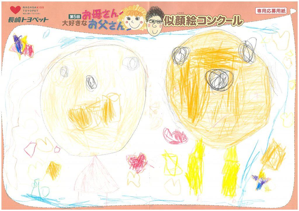 R.Kちゃん(4才)の作品