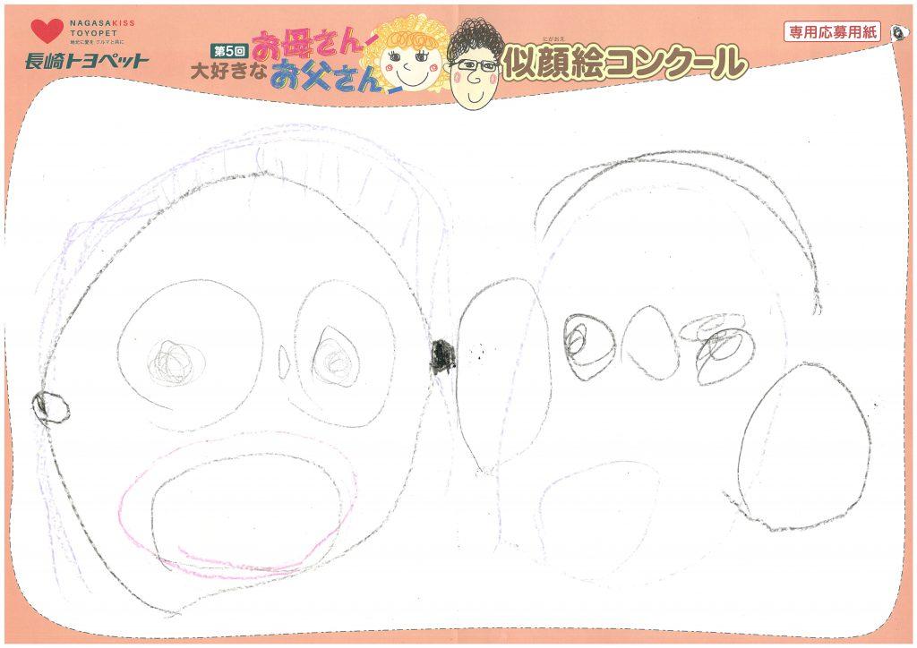 A.Uくん(4才)の作品