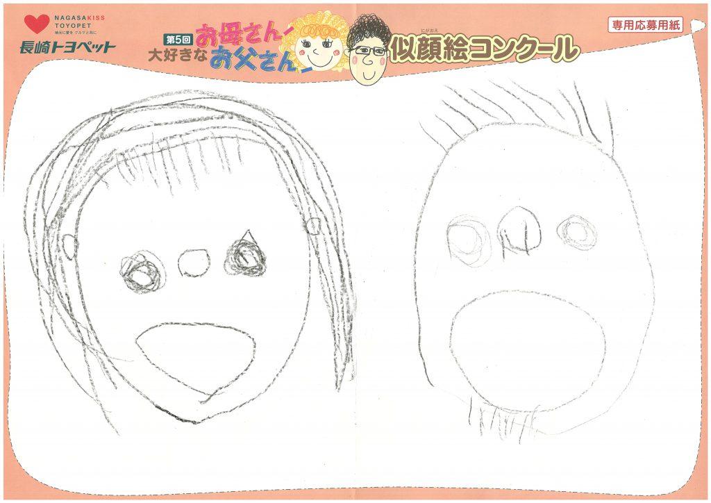 N.Uくん(4才)の作品