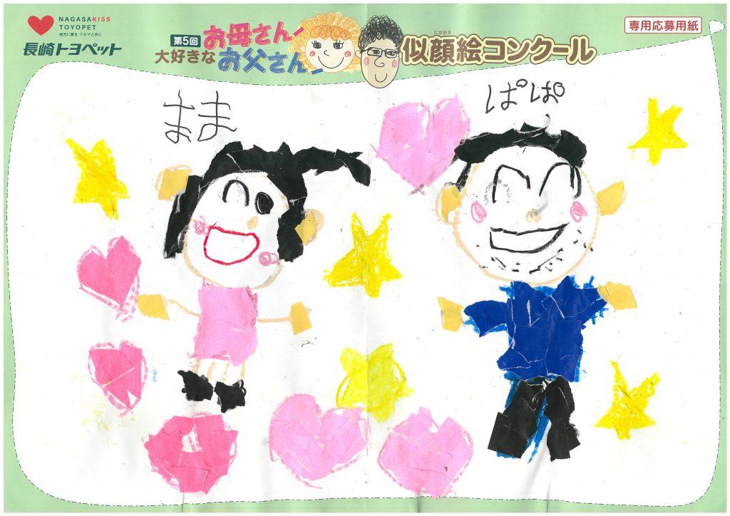 T.Sくん(6才)の作品