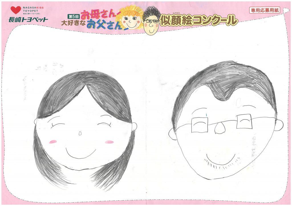 A.Hちゃん(8才)の作品
