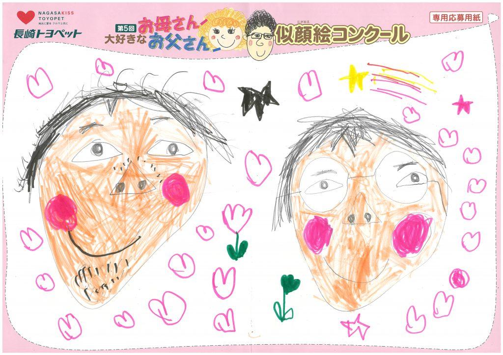 E.Hくん(6才)の作品