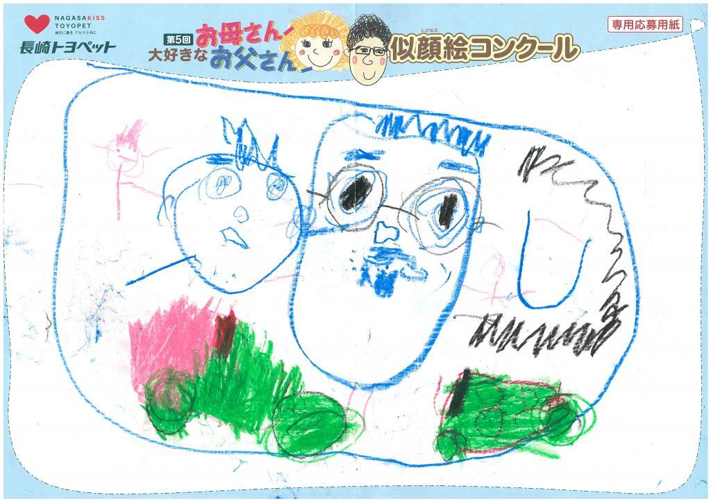 M.Nくん(4才)の作品