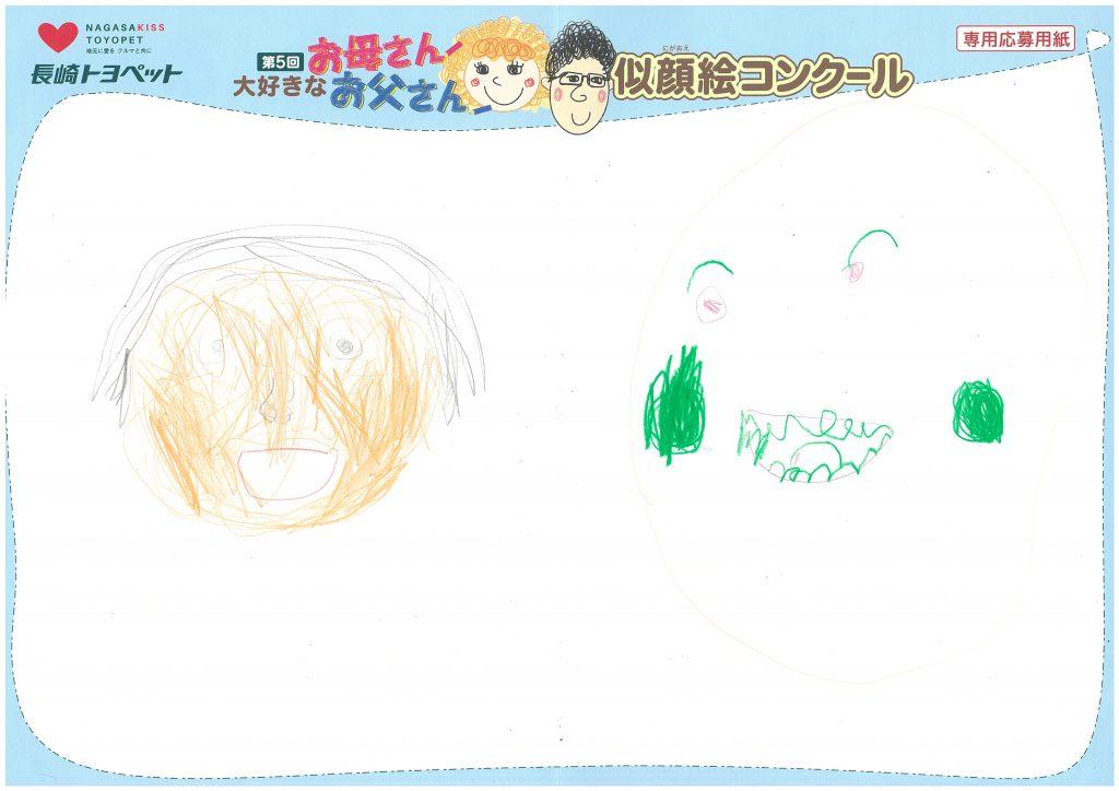D.Nくん(6才)の作品