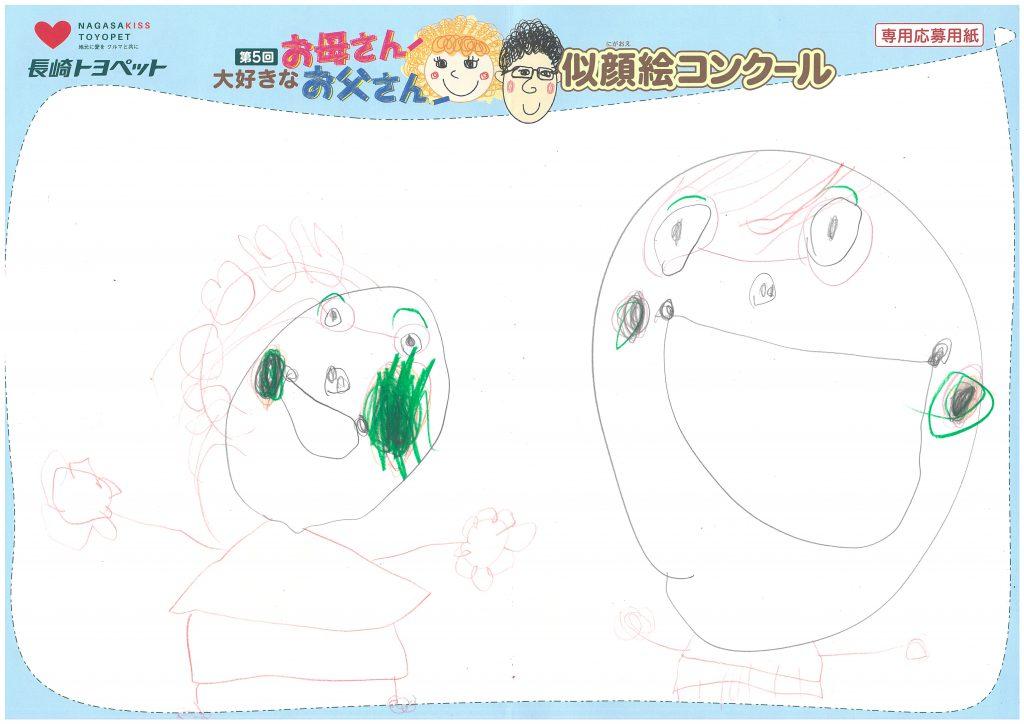 T.Nちゃん(4才)の作品