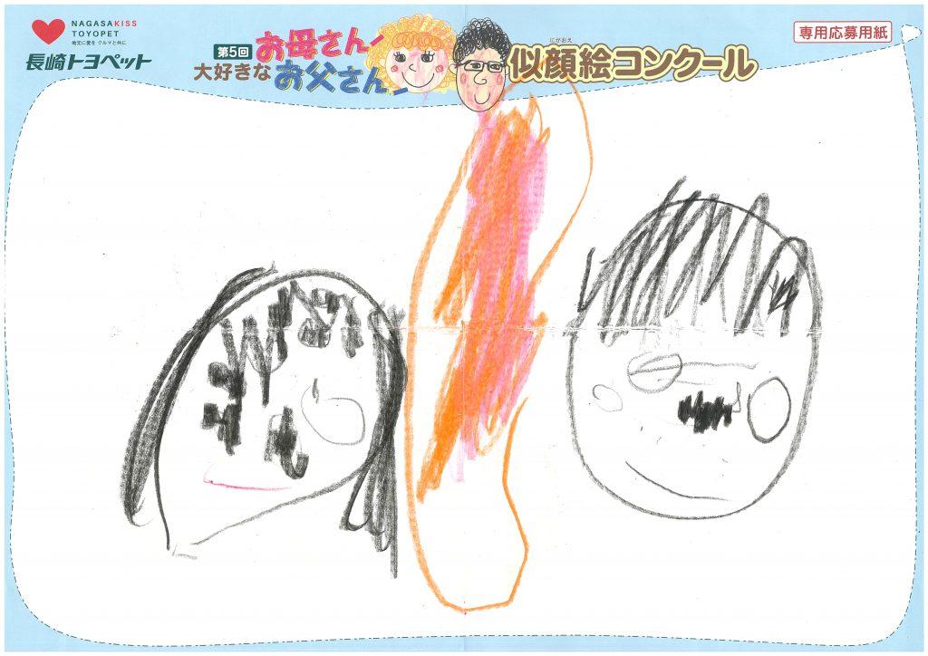 S.Nちゃん(2才)の作品