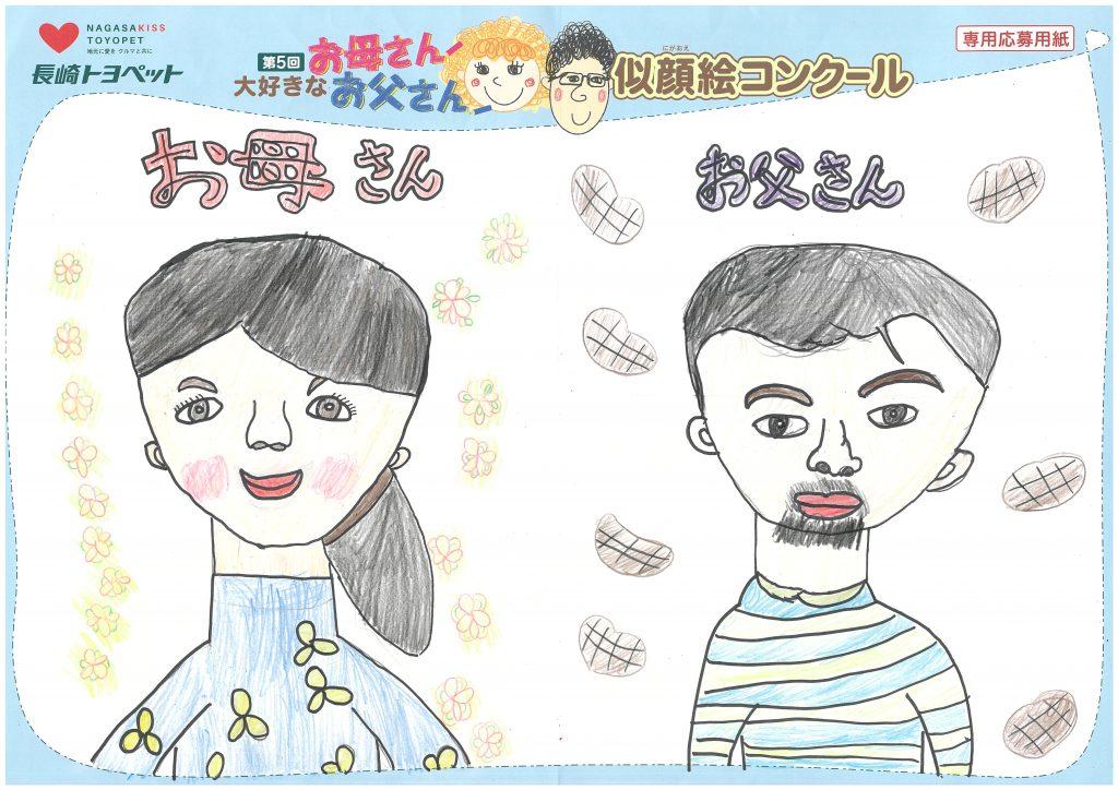 A.Hちゃん(10才)の作品