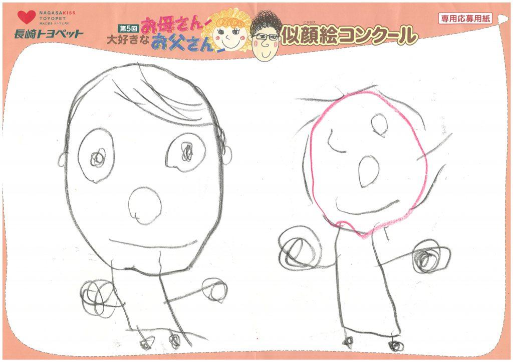 Y.Aくん(4才)の作品