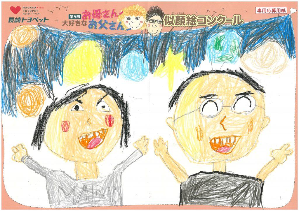 A.Hくん(6才)の作品