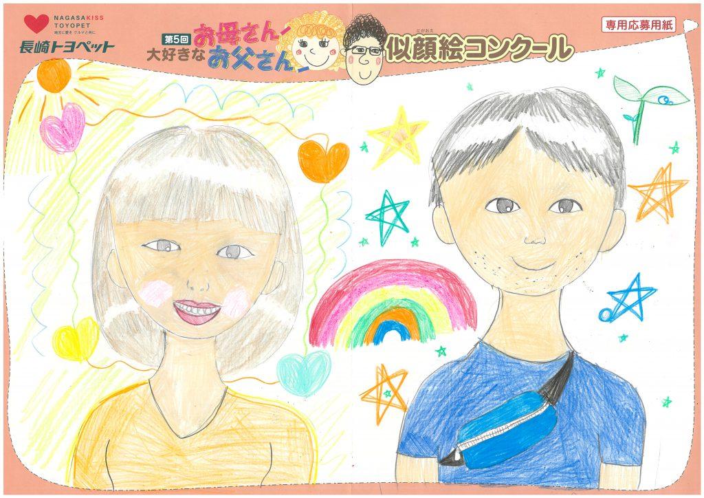H.Hちゃん(9才)の作品