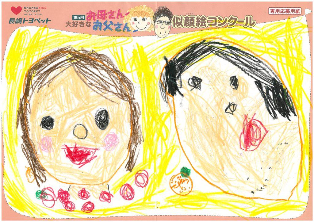 A.Hちゃん(3才)の作品