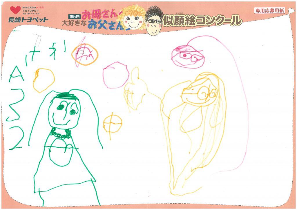 S.Mちゃん(3才)の作品