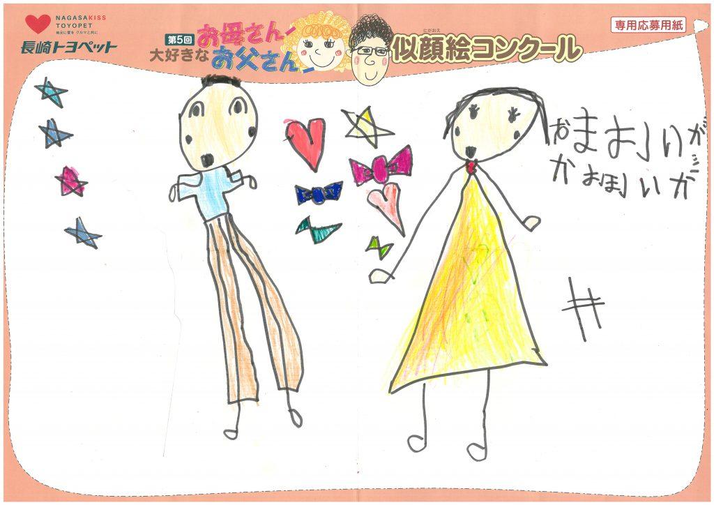 E.Hちゃん(4才)の作品