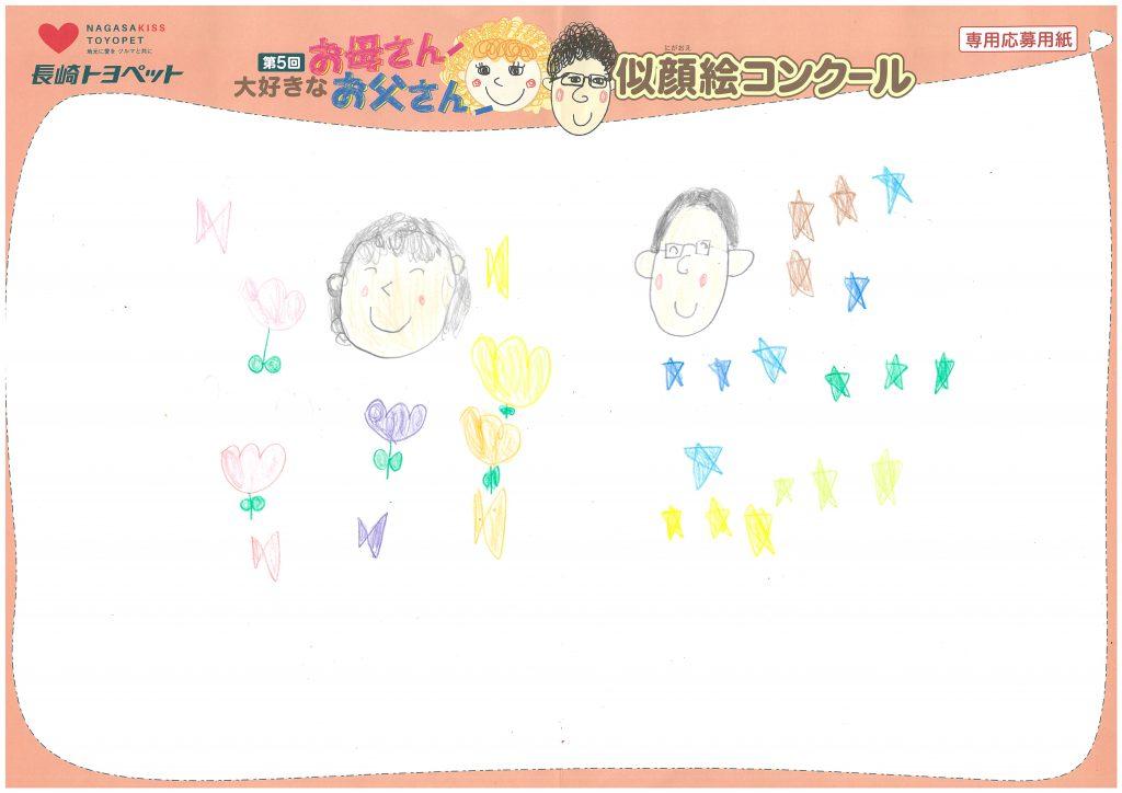 S.Hちゃん(7才)の作品