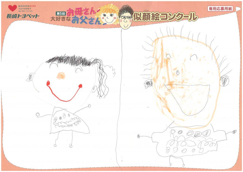 M.Iちゃん(4才)の作品