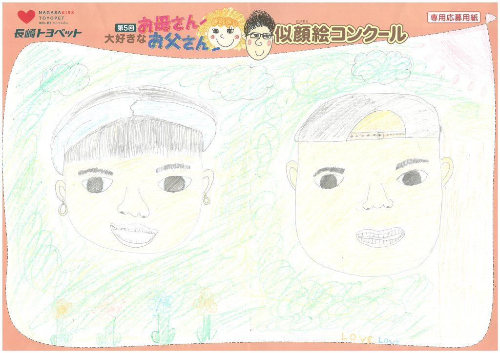 R.Kちゃん(11才)の作品