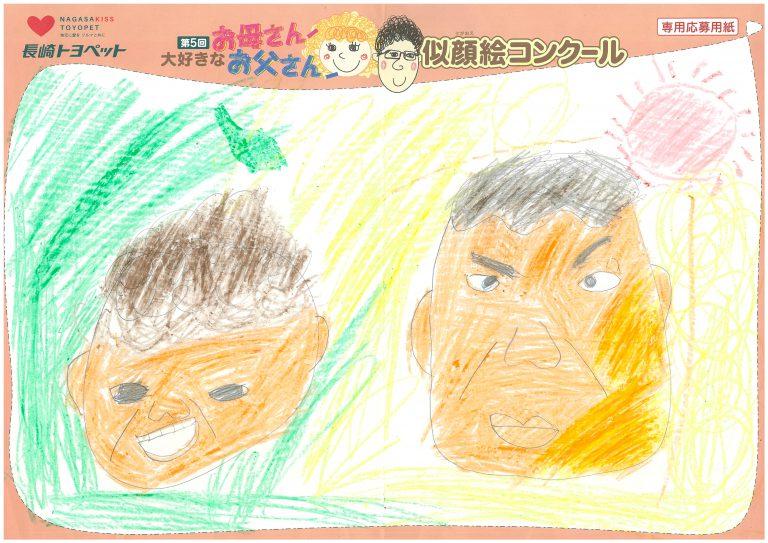 M.Kくん(8才)の作品