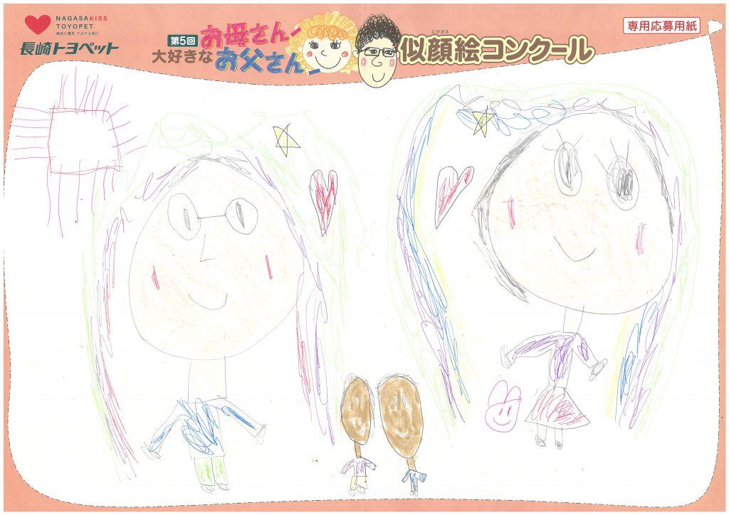 H.Rくん(6才)の作品
