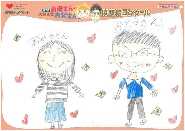 R.Kちゃん(8才)の作品