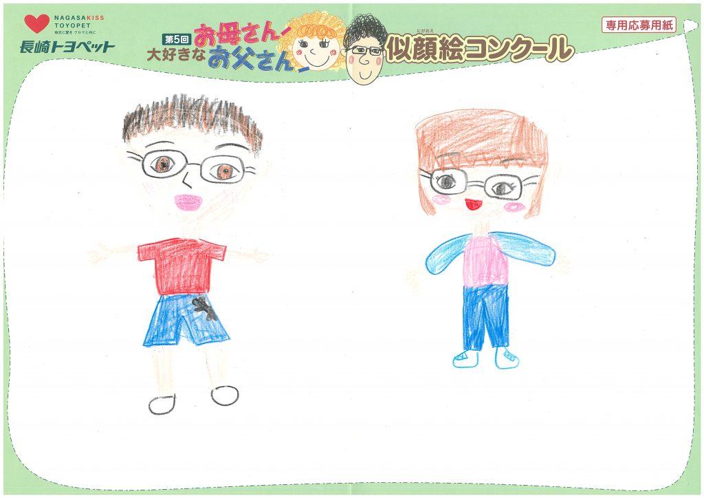 E.Mちゃん(8才)の作品