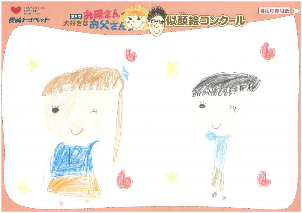 A.Uちゃん(6才)の作品