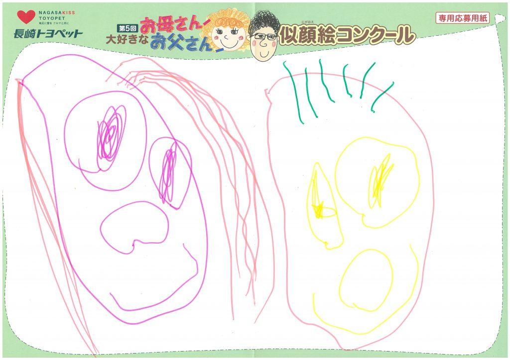 Z.Sちゃん(3才)の作品