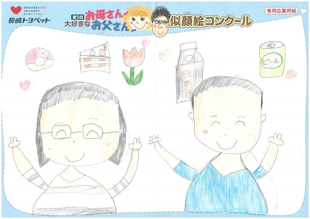 R.Dちゃん(9才)の作品