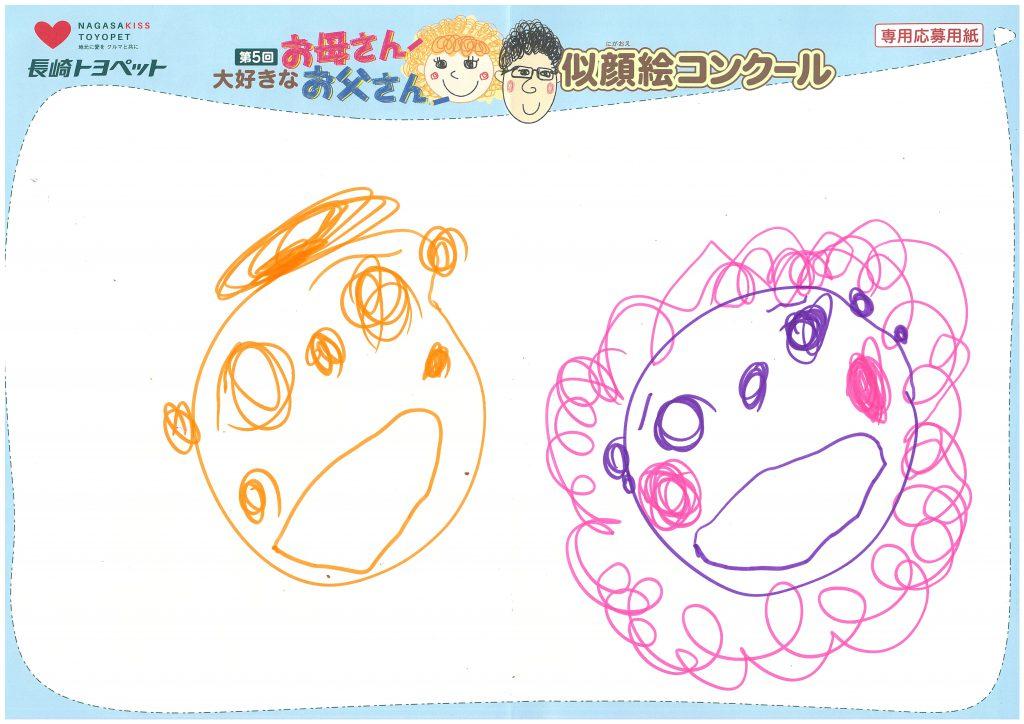 A.Iちゃん(4才)の作品