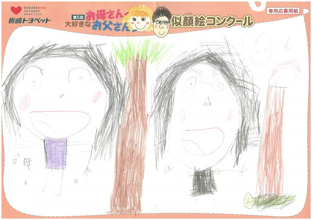 N.Mちゃん(6才)の作品